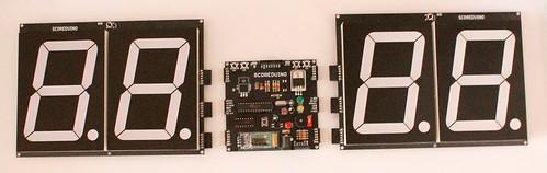 Bluetooth Controlled Digital Scoreboard based on Scoreduino-B (13)