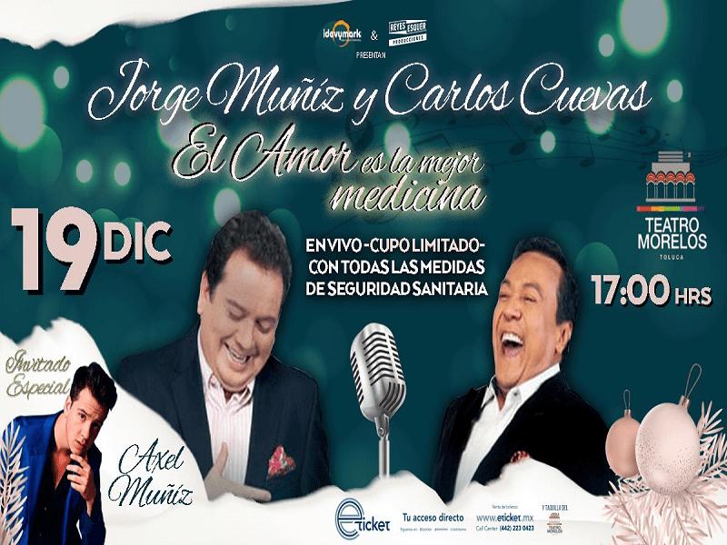 2020.12.19 EL TIEMPO ES ORO CON CARLOS CUEVAS & JORGE MUÑIZ