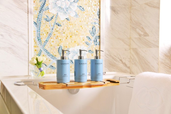 雅高酒店集團 Accor biodegradable solution at Sofitel luxury hotels with Lanvin (3)