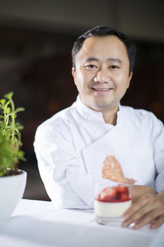 張海星師傅為澳門君悅酒店行政主廚─餅房Jerry Zhang, Grand Hyatt Macau's Executive Pastry Chef