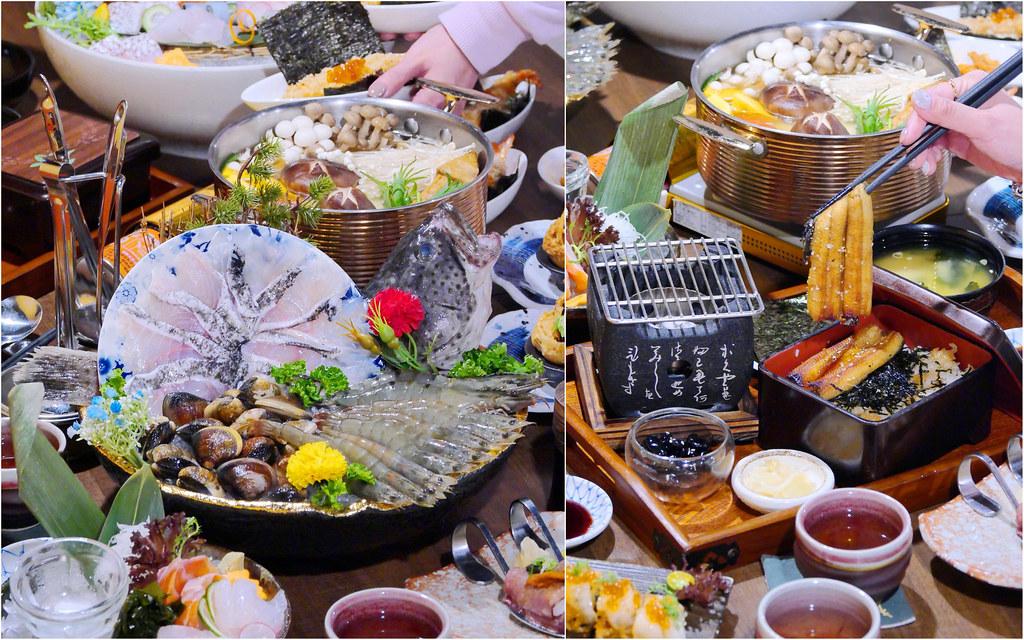 永樂饌日式海鮮料理/鍋物菜單_台中南屯:含2-4人豪華套餐/刺身/備長炭燒烤/火鍋/酒類/丼飯菜單