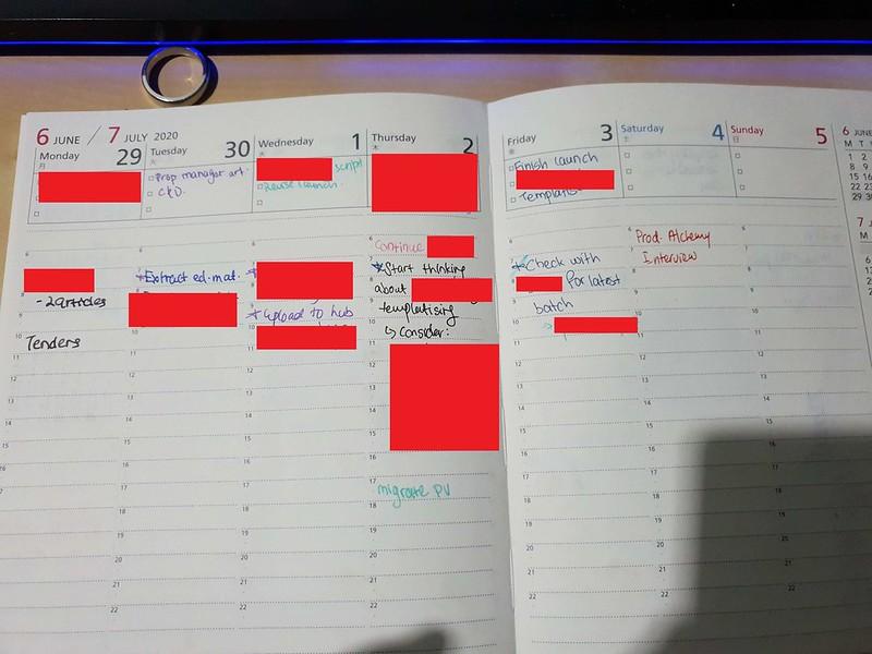 Inside the Kokuyo Campus Diary