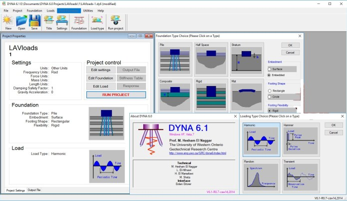 Working with Western University DYNA v6.1 full