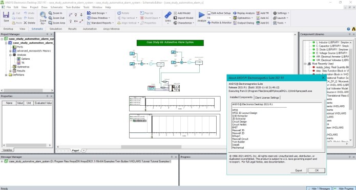 Working with ANSYS Electronics Suite 2021 R1 full