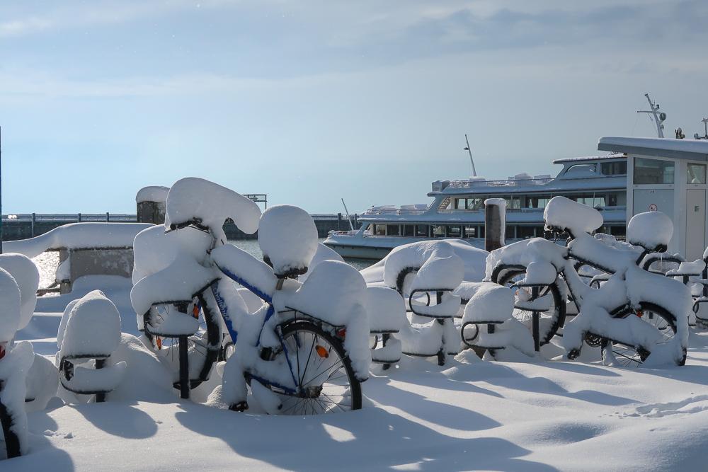 Schnee Spaziergang Friedrichshafen am Bodensee Januar 2021 hyyperlic-02