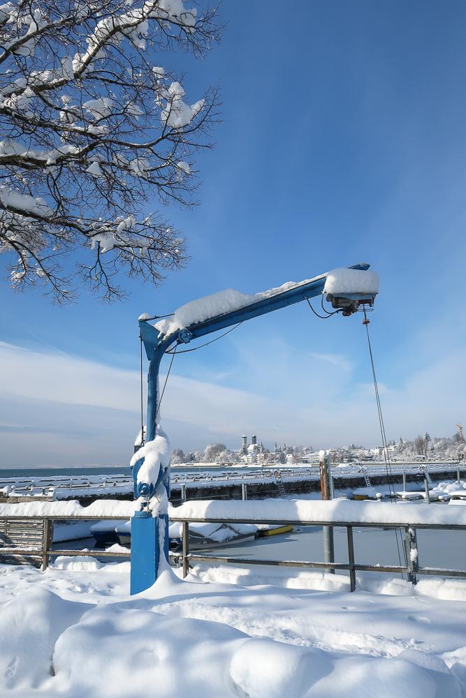 Schnee Spaziergang Friedrichshafen am Bodensee Januar 2021 hyyperlic-25