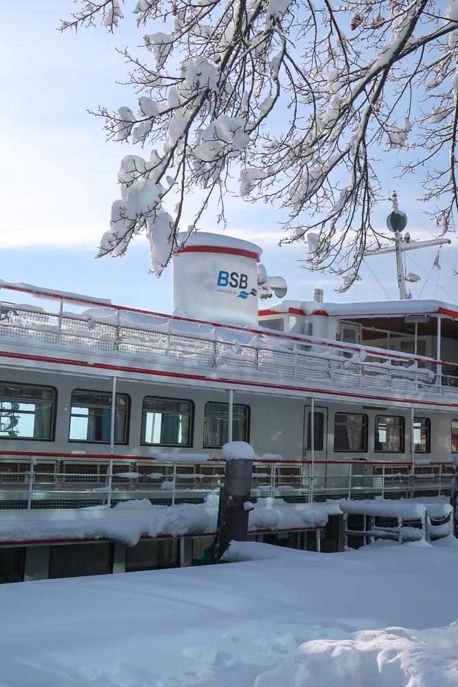 Schnee Spaziergang Friedrichshafen am Bodensee Januar 2021 hyyperlic-09