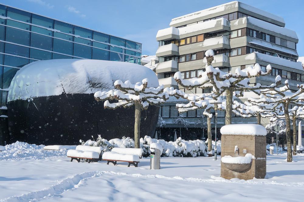 Schnee Spaziergang Friedrichshafen am Bodensee Januar 2021 hyyperlic-07