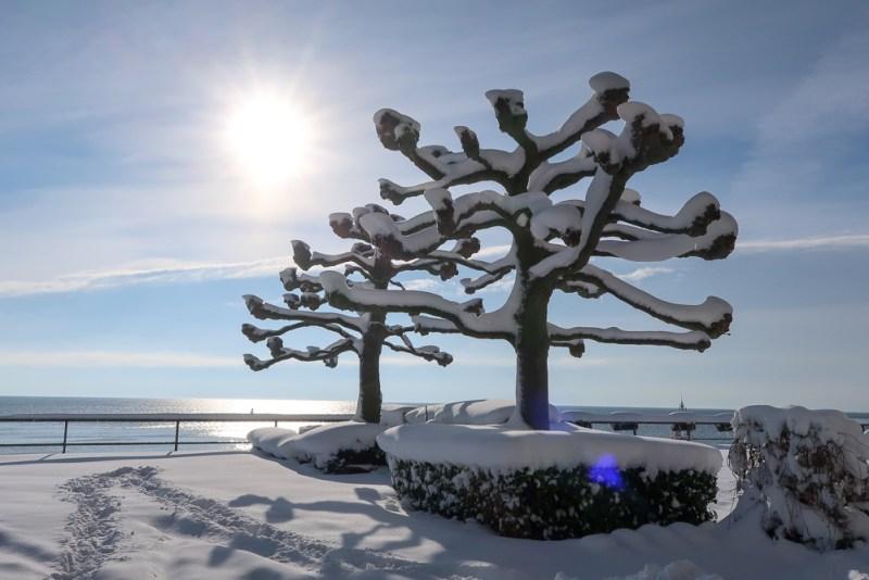 Sightseeing Walk Snow Lake Constance Friedrichshafen January 2021 Blog JoyDellaVita-08