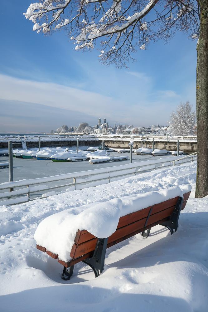 Sightseeing Walk Snow Lake Constance Friedrichshafen January 2021 Blog JoyDellaVita-23