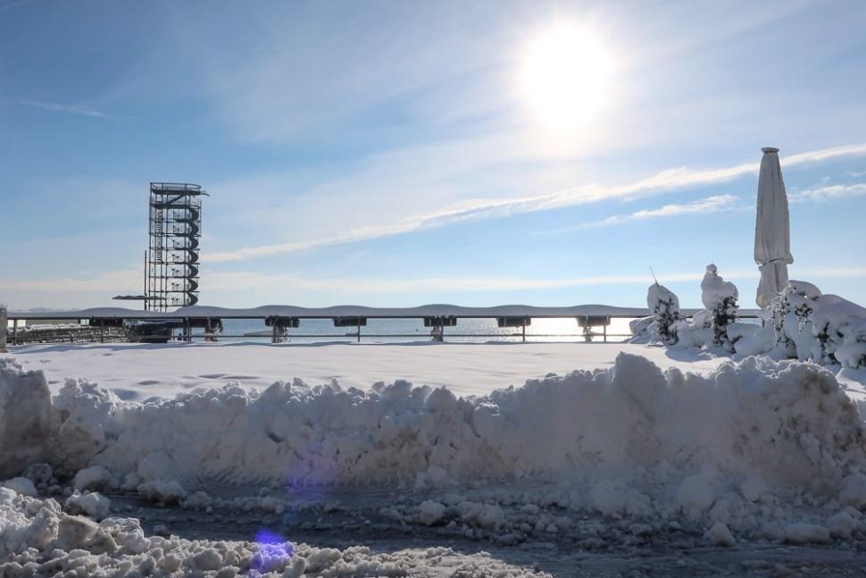 Sightseeing Walk Snow Lake Constance Friedrichshafen January 2021 Blog JoyDellaVita-10