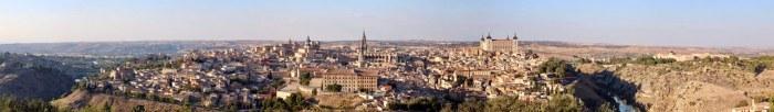 Toledo panorámico/Panoramic Toledo