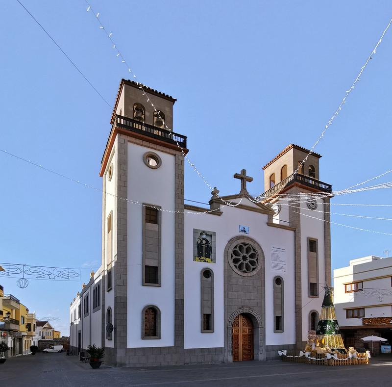 exterior Iglesia de San Nicolás de Tolentino La Aldea Gran Canaria 03