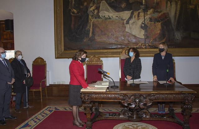 María del Carmen Carrión Pérez renueva su cargo como decana de la Facultad de Ciencias