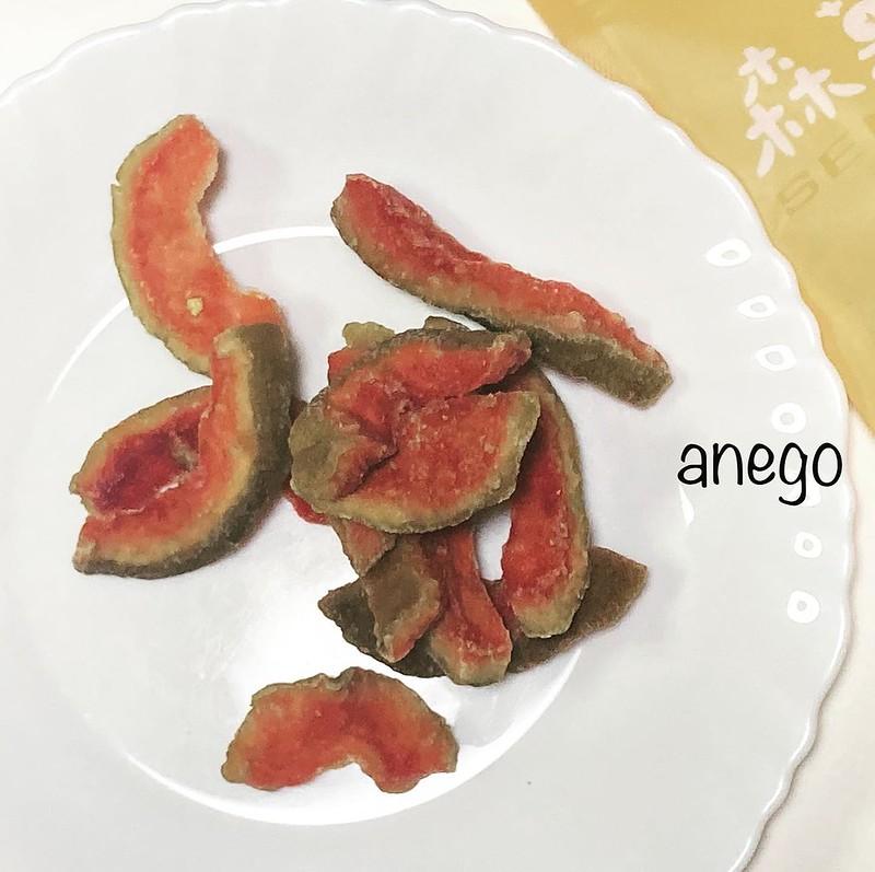 ドライグァバおいし。南国の味。 枇杷膏と一緒に台湾から輸入したものです。 #おうちで台湾 #ドライフルーツ #グァバ #紅心芭樂乾