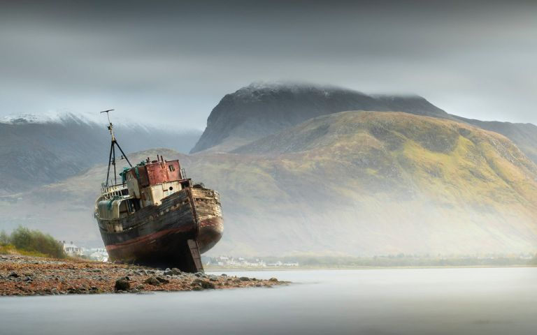 Old Boat Of Caol