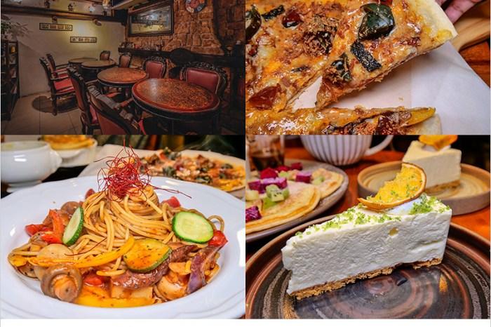 台中西區蔬食料理 | 斐得蔬食(民權店),中西式合併很不一樣的手作蔬食餐廳,在歐式餐裝潢氛圍用餐,彷彿一秒置身在歐洲。