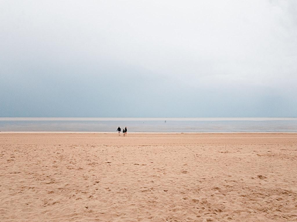 Promenade à marée basse
