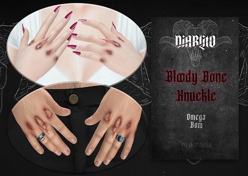 DIABLITO - Bloody Bone Knuckle