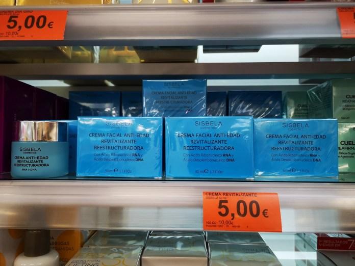 Mercadona超市5歐元一瓶的必買面霜