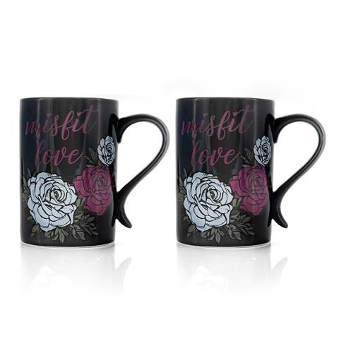 Nightmare before Christmas Misfit Love Coffee Mug Set
