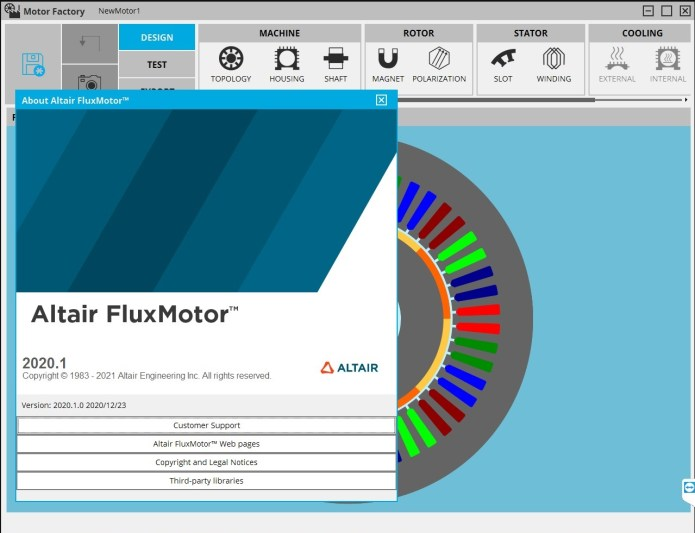 Working with Altair FluxMotor 2020.1.0 full