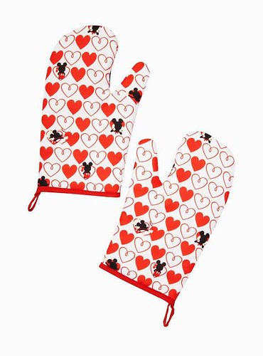 Mickey and Minnie Oven Mitts
