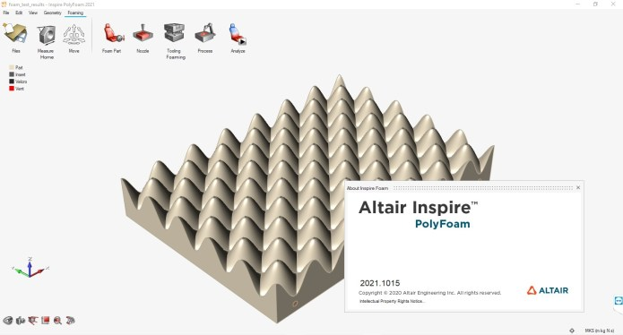 Working with Altair Inspire PolyFoam 2021.0 full license