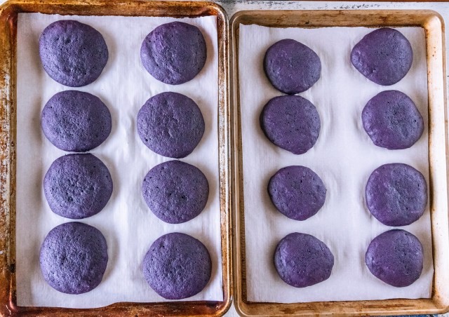 perfectly puffy purple pies
