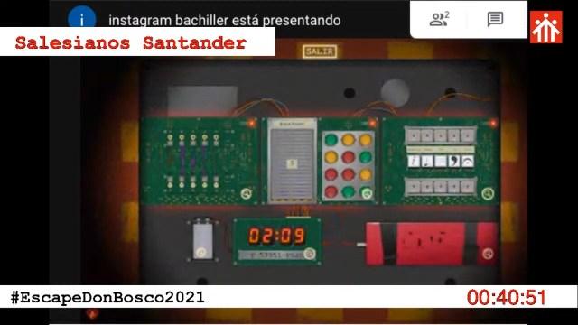 Bomba del equipo de Santander