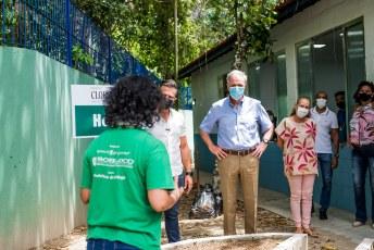 Escola Estadual Maria Celeste Pereira Leite foi inaugurada nesta segunda-feira, 1º de fevereiro de 2020