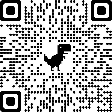 A QR code that will take people to Whatever