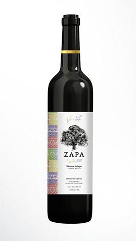 5 Vino Tinto Zapa Raigar