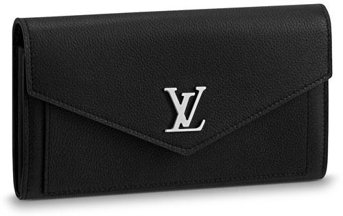 louis-vuitton-mylockme-wallet-black-leather-flap