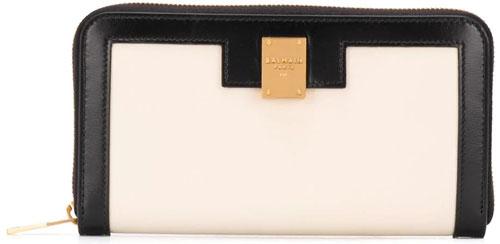 farfetch-balmain-1945-zip-calf-leather-wallet-black-white