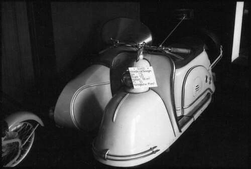 Goggo Motorroller mit Beiwagen 1953 - 108205 - 9A