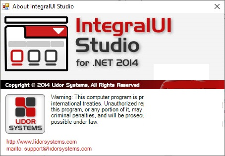 Working with Lidor Systems IntegralUI Studio 2014 full