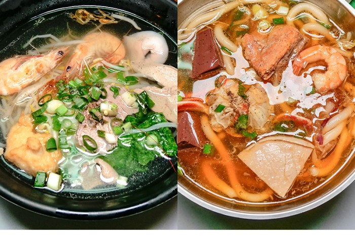 娟越南小吃 | 台中南屯市場高人氣越南料理,推薦海鮮河粉、螃蟹米苔目、炸春捲、法國麵包,夏天吃好爽口。