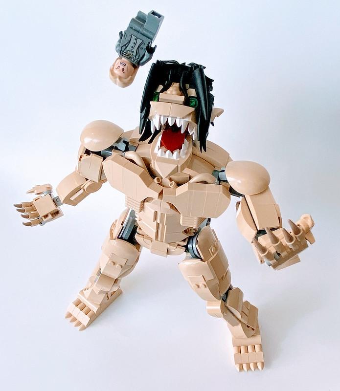 Lego Attack Titan: Eating Willy Tybur in Season 4