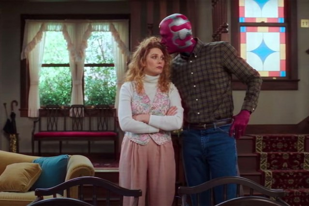 Vision and Wanda in Episode Five.