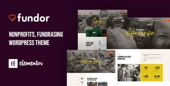 Fundor Charity Nonprofit WordPress Theme