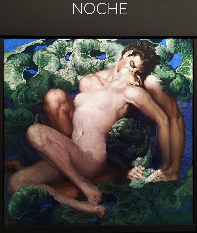 pintura Noche Poema de la tierra museo Nestor Las Palmas de Gran Canaria