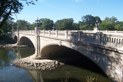 Bridge over the St. Joseph River at Leeper Park