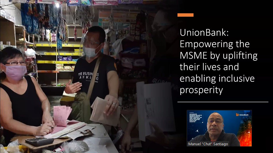 UnionBank GlobalLinker - Empowering the MSME by uplifting their lives and enabling inclusive prosperity