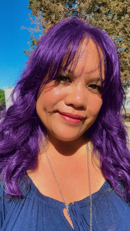 what if I had purple hair...