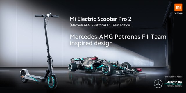 Mi E-Scooter Pro Mercedes Product shots