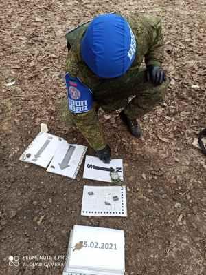RPD – L'armée ukrainienne tire avec des obus au standard OTAN sur Yelenovka, et endommage trois habitations
