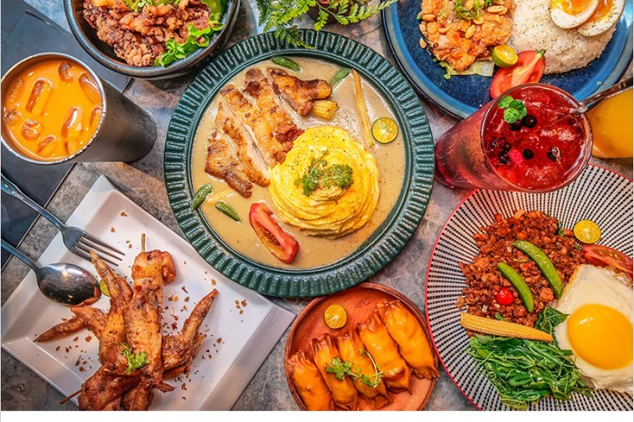 N.N. Thai Thai 泰式創意料理 | 台中東海商圈高人氣平價泰式美食,餐點美味份量多,森林系環境好拍照。