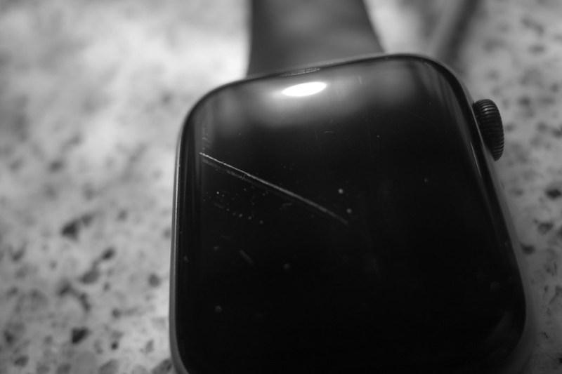 scratch on Apple Watch