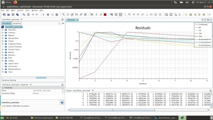 Working with Siemens Star CCM+ 2021.1.0 R8 linux full